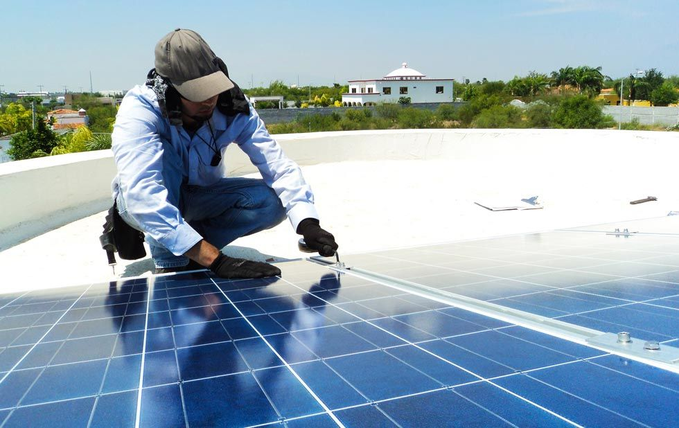 DGUV Vorschrift 3 - EuP - Solarmontage