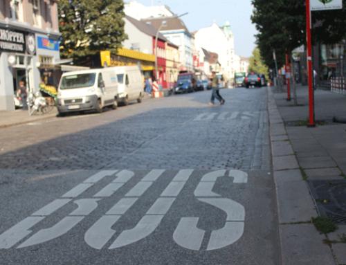 Mit Hochvolt durch Hamburg